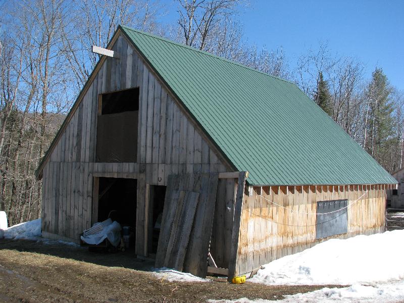 32 x 36 Barn built in 2011