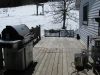 10 x 36 Large Deck Leading to Back Patio
